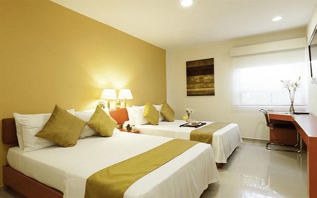 Hotel Misión Express Monterrey Aeropuerto La Fe, habitaciones bien equipadas