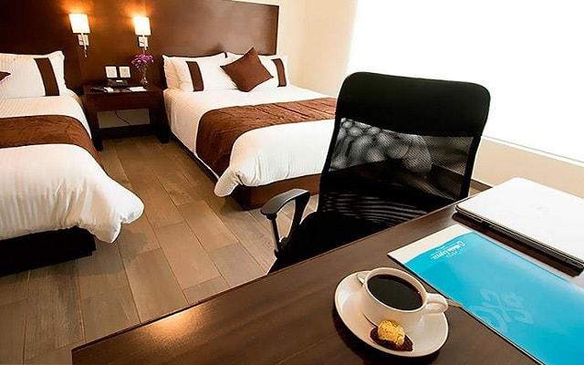 Hotel Misión Express Tampico, habitaciones cómodas y acogedoras