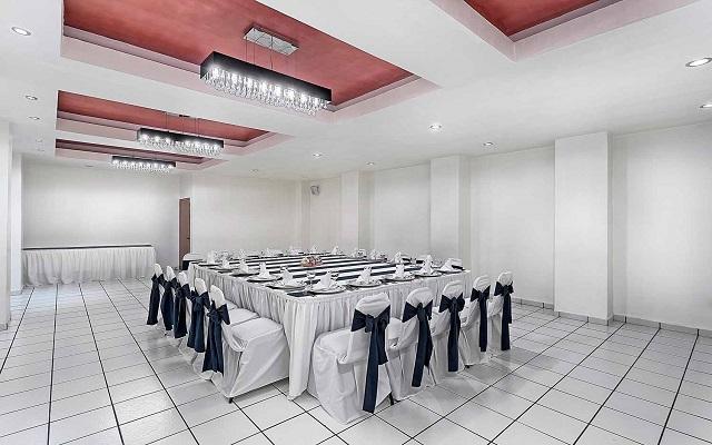 Hotel Misión Express Villahermosa, salones acondicionados como lo requieras