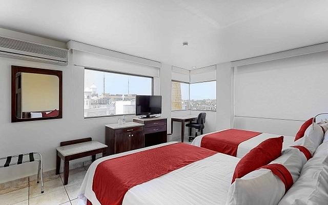 Hotel Misión Express Villahermosa, habitaciones bien equipadas