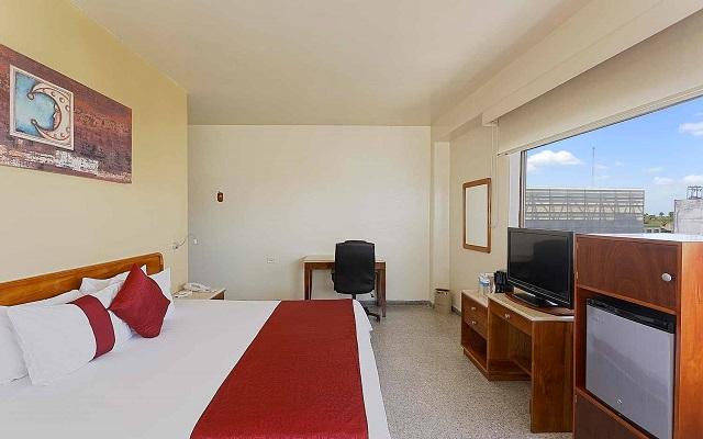 Hotel Misión Express Villahermosa, habitaciones cómodas y acogedoras