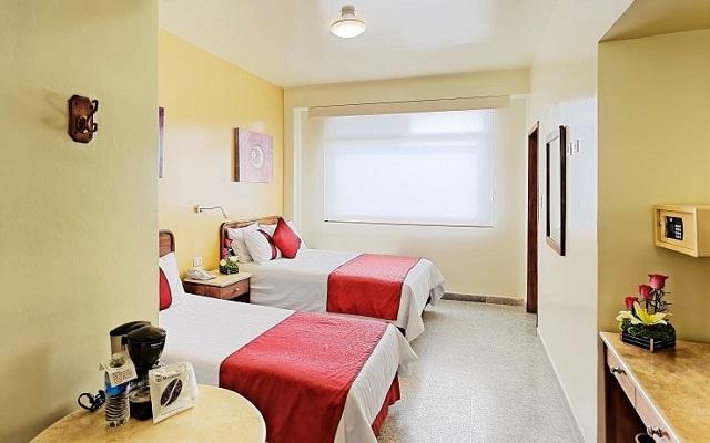 Hotel Misión Express Villahermosa, amplias y luminosas habitaciones