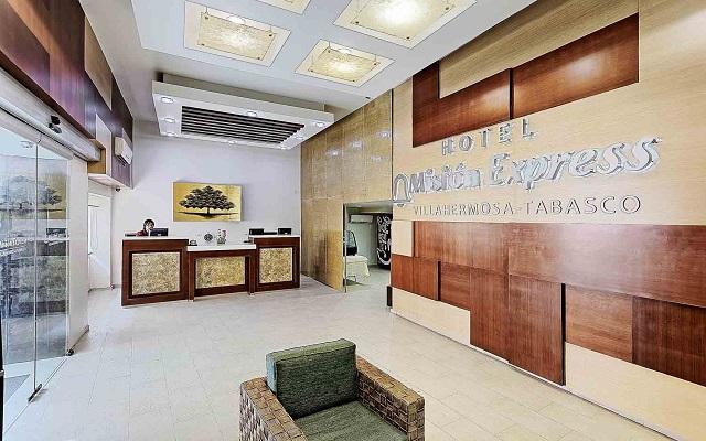Hotel Misión Express Villahermosa, atención personalizada desde el inicio de tu estancia