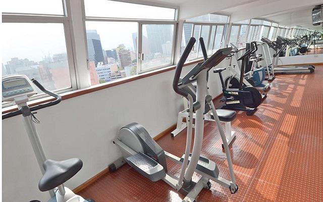Hotel Misión Express Zona Rosa, gimnasio bien equipado