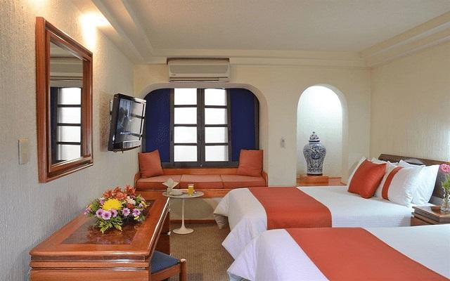 Hotel Misión Express Zona Rosa, habitaciones cómodas y acogedoras