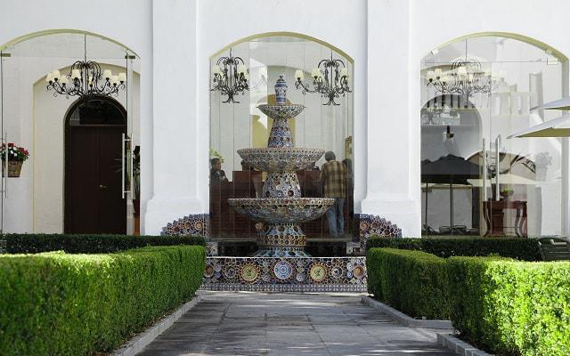 Hotel Misión Grand Ex-Hacienda de Chautla, ambiente de tranquilidad rodea la propiedad