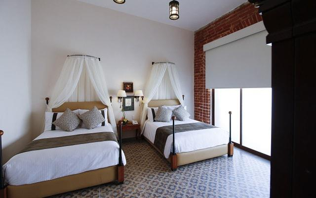 Hotel Misión Grand Ex-Hacienda de Chautla dispone de habitaciones amplias