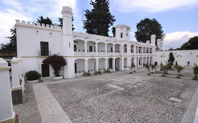 Hotel Misión Grand Ex-Hacienda de Chautla, destaca su belleza arquitectónica