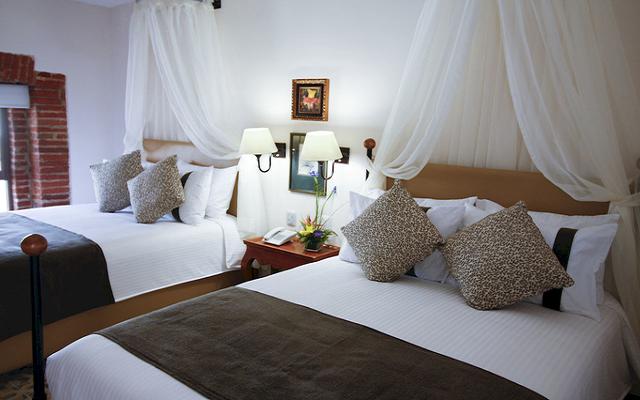 Hotel Misión Grand Ex-Hacienda de Chautla, disfruta de sus cómodas y completamente equipadas habitaciones