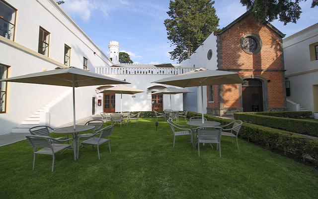 Hotel Misión Grand Ex-Hacienda de Chautla disfruta de los jardines de la propiedad