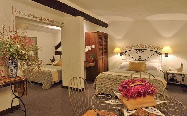 Hotel Misión Grand San Cristóbal de las Casas, acogedoras habitaciones con estilo colonial