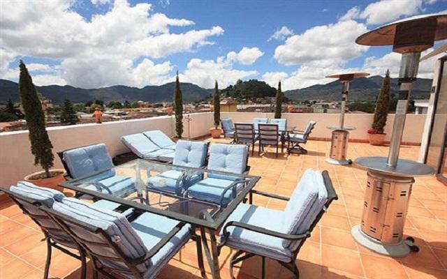 Hotel Misión Grand San Cristóbal de las Casas, relájate en la terraza