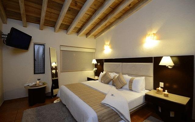 Hotel Misión Grand Valle de Bravo, habitaciones cómodas y modernas