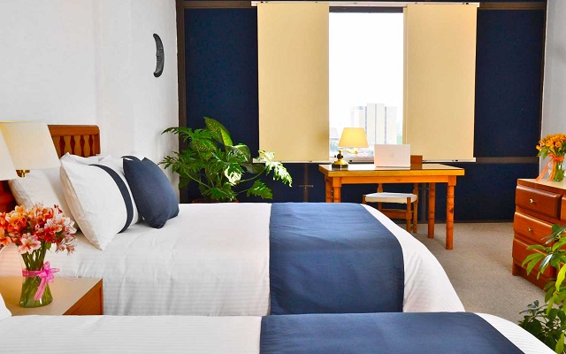 Hotel Misión Guadalajara Carlton, habitaciones bien equipadas