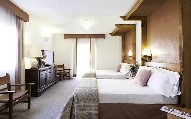 Hotel Misión Guanajuato, habitaciones amplias y luminosas