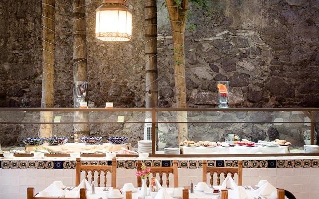 Hotel Misión Guanajuato, rica propuesta gastronómica