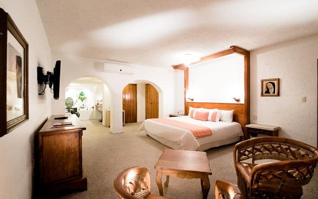 Hotel Misión Guanajuato, habitaciones bien equipadas