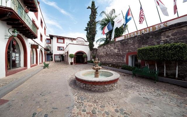Hotel Misión Guanajuato, escenarios acogedores