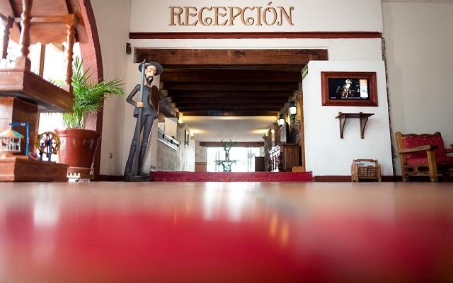 Hotel Misión Guanajuato, recepción