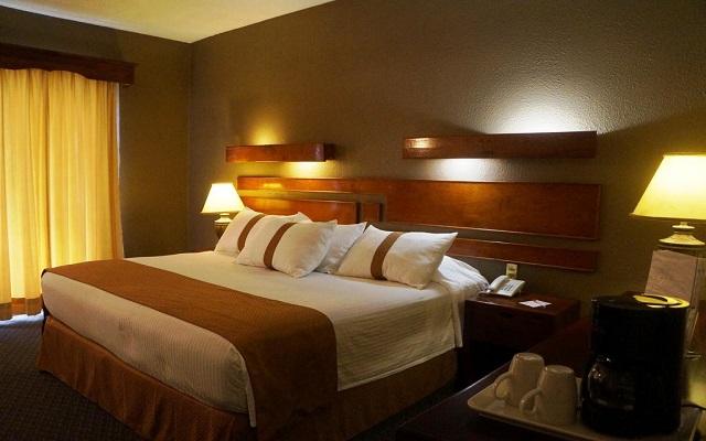 Hotel Misión Los Cocuyos, habitaciones bien equipadas