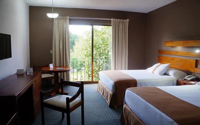Hotel Misión Los Cocuyos, amplias y luminosas habitaciones