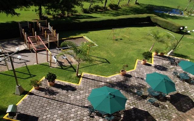 Hotel Misión Los Cocuyos, área de juegos para niños