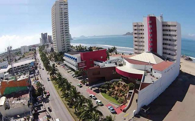 Hotel Misión Mazatlán en Zona Dorada