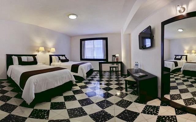 Hotel Misión Mérida Panamericana, habitaciones bien equipadas