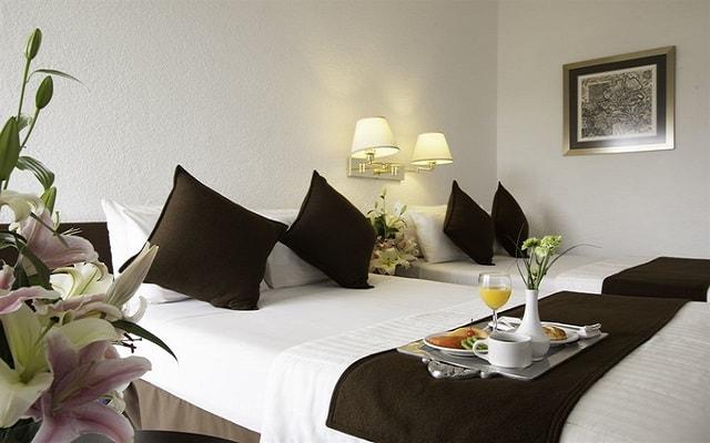 Hotel Misión Oaxaca, habitaciones de estilo contemporáneo