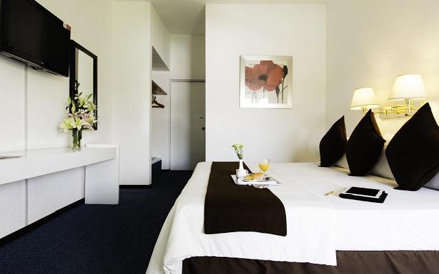 Hotel Misión Oaxaca, habitaciones con todas las comodidades