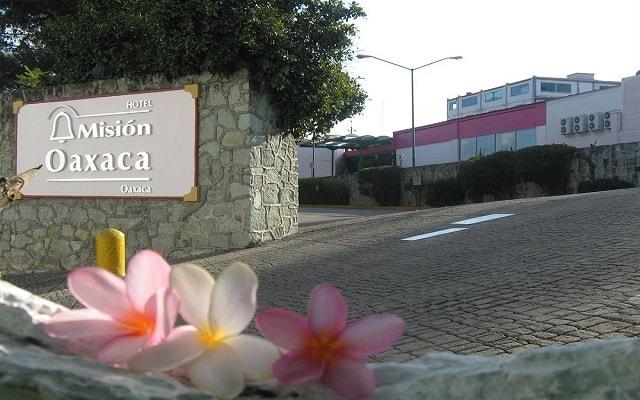 Hotel Misión Oaxaca, buena ubicación