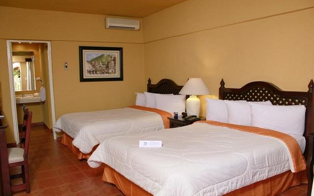 Hotel Misión Orizaba, luminosas habitaciones