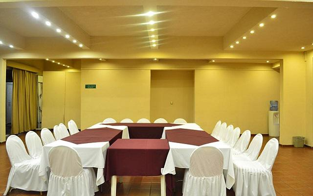 Hotel Misión Orizaba, salones acondicionados como lo requieras