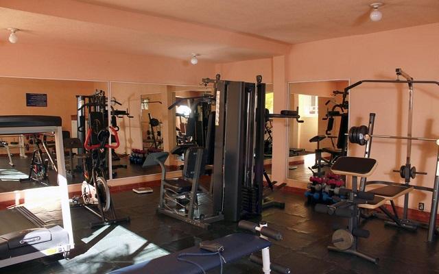 Hotel Misión Orizaba, gimnasio bien equipado
