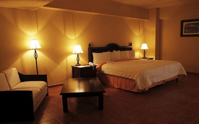 Hotel Misión Orizaba, habitaciones bien equipadas