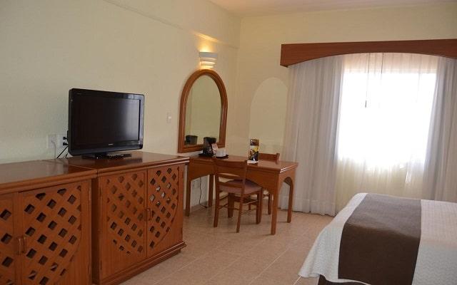 Hotel Misión Veracruz, habitaciones bien equipadas