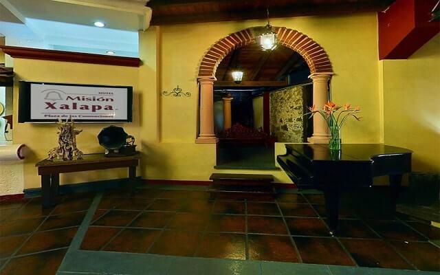 Hotel Misión Xalapa Plaza de las Convenciones, ingreso