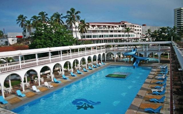 Hotel Mocambo, disfruta de su alberca al aire libre