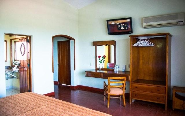 Hotel Mocambo, habitaciones bien equipadas