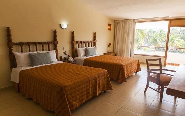Hotel Mocambo, amplias y luminosas habitaciones