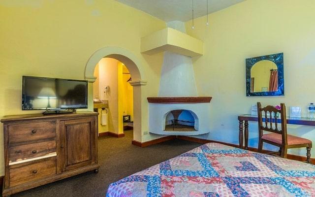Hotel Monteverde Best Inns, habitaciones con chimenea