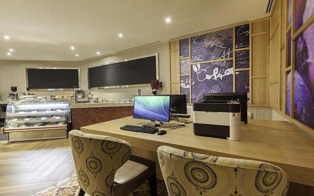 Hotel Moon Palace Cancún, acceso a computadoras con internet