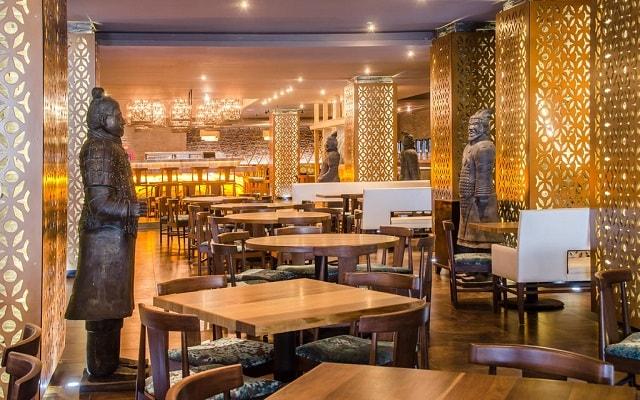 Hotel Moon Palace Cancún, visita su restaurante oriental