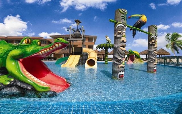 Hotel Moon Palace Cancún, parque acuático