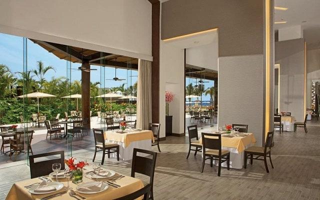Hotel Now Amber Puerto Vallarta, escenario ideal para tus alimentos