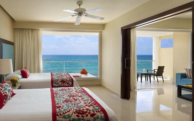 Hotel Now Jade Riviera Cancún, amplias y luminosas habitaciones