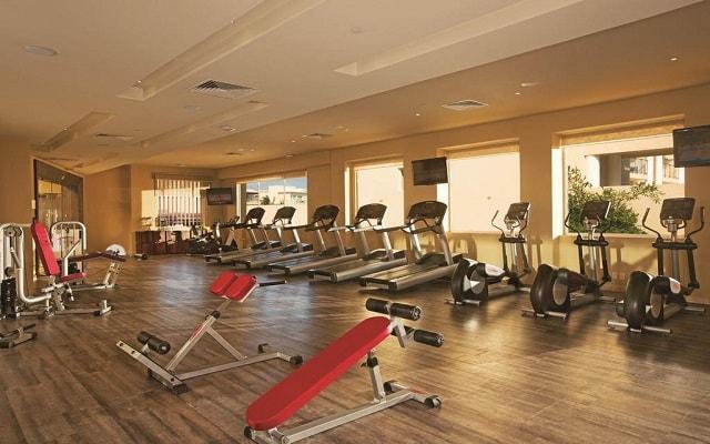 Hotel Now Jade Riviera Cancún, gimnasio