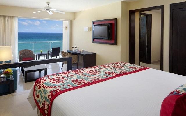 Hotel Now Jade Riviera Cancún, habitaciones con hermosas vistas