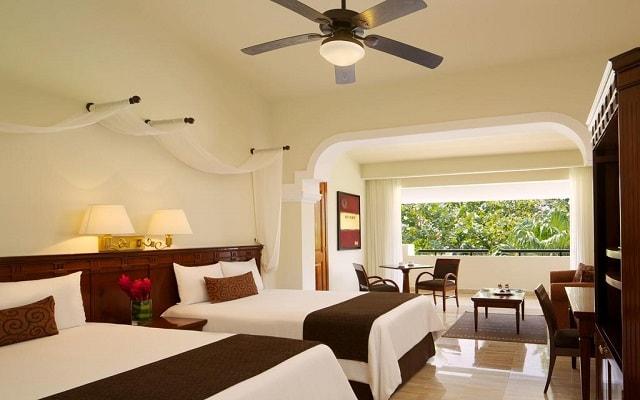 Hotel Now Sapphire Riviera Cancún, amplias y luminosas habitaciones