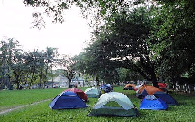 Hotel Nututun Palenque, zona de camping